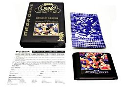 Very Rare Gold Micky Ozisoft Sega Mega Drive Pal Game Suit Collector Genesis +fp