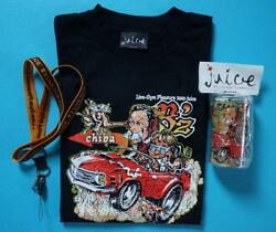 B'z Juice T Shirt Graphic Tee Men Black One Size New Collectible Japanese Band