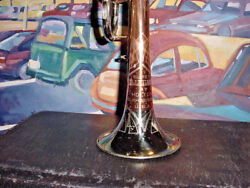 Vintage Holton Cornet Super Collegiate Silver Brass And Coprion Bell 1958