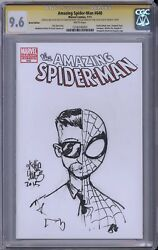 Amazing Spider-Man #648 CGC SS Stan Lee signed Skottie Young original art MARVEL