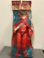 Red Death Mask Retro Vintage Toy Soft Vynil Figure Collectible Rare Figurine F/s