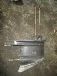 Johnson 100 Hp Commercial Outboard Lower Unit With 20 Shaft