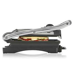 Tristar GR-2848 Grill of Contact Sandwich maker 2000 W Iron Black Silver