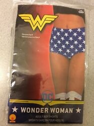Womens Adult Wonder Woman Boy Shorts Costume Accessory Dc Comics Superhero