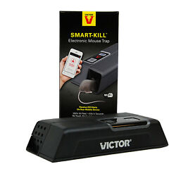 Victor Smart-Kill Electronic Mouse Trap Receive Kill Alerts on Mobile Device