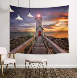 Lighthouse Tapestry Wall Hanging Decor for Bedroom Living Room DormHome Decor