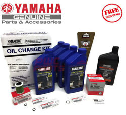 Yamaha 2006-2010 F200txr Outboard Oil Change Kit 4m Fuel Filter Gear Lube Maint