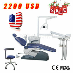 Computer Controlled Dental Unit Chair Thermostatic Water Supply System FDA CE US