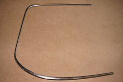 Alfa Romeo 105 All Gtv Models Windshield Anodised Trim Front Right Used