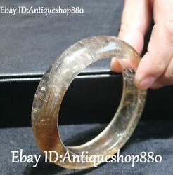 Natural Crystal Carved Bracelet Bangle Circlet Wristlet Jewelry Jewellery Statue