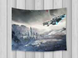 Science Fiction Tapestry Wall Hanging Decor for Bedroom Living Room TV Backdrop