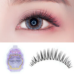4 Pairs Of False Eyelashes Refined Manual Sharpening Soft Transparent terrier ER