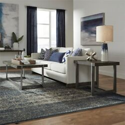 Liberty Furniture Sorrento Valley 3 Piece Coffee Table Set In Tobacco