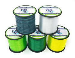 Reaction Tackle Monofilament Fishing line Nylon Mono Various Sizes and Colors $10.99