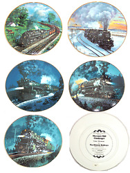 Train Collector Plate Knowles The Romantic Age Of Steam Historic Railways