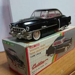 Tin Luxe Car Diecast 1950 Type Cadillac Made In China With Box Collectible Rare