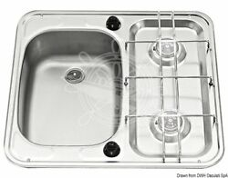 Smev S.s Sink+2 Burners Left Small