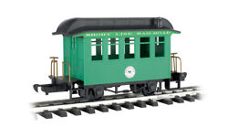 Bachmann G Scale 97093 Short Line Railroad Green Track Cleaning Coach Car New