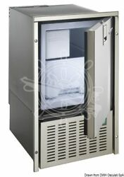 Isotherm Icemaker White Ice 230 V Inox