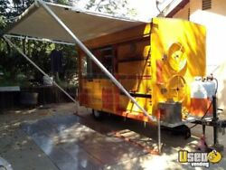 2012 - 10' x 6' Custom Built Corn  Potato Roaster Concession Trailer!!!