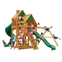 NEW Gorilla Playsets Great Skye I with Amber Posts and Standard Roof Swing Set