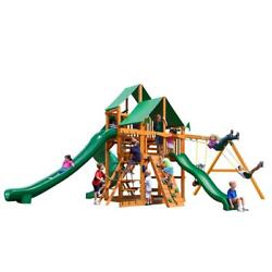 NEW Gorilla Playsets Great Skye II with Amber Posts and Deluxe Canopy Swing Set