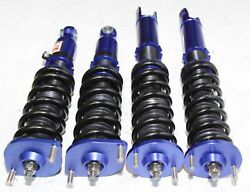 Coilover Suspension For 90-96 Nissan 300zx Coupe 2d Z32 Blue