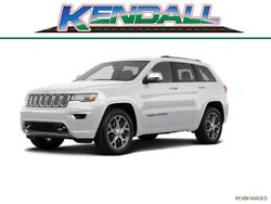 2019 Grand Cherokee SRT 2019 Jeep Grand Cherokee SRT 9 Miles Bright White Clearcoat 4x4 SRT 4dr SUV  8-S