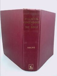 Analytical Concordance To The Holy Bible Rev Ed By Robert Young Lld