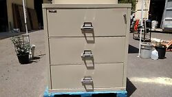 *FIRE KING FILE CABINET 3 DRAWER LATERAL FIRE FILE  We Deliver LocallyNorthernCA