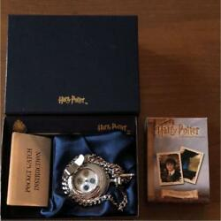 Harry Potter 2003 Pocket Watch Collectible Movie Japan Limited New In Box Rare