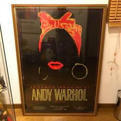 Andy Warhol Black Mommy Event Poster Art Framed Very Rare Wall Decor Artist F/s