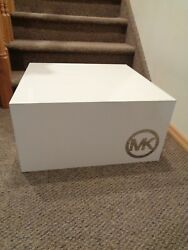 Authentic Michael Kors MK Large White Mannequin Platform Retailer Display Stand