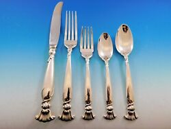 Romance Of The Sea By Wallace Sterling Silver Flatware Set Service Dinner 43 Pcs