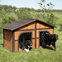 Big Dog House XXL Medium Extra Large Dogs Houses Insulation Doors Kennel Home
