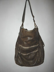 FREE PEOPLE HANDBAG BACK PACK CROSSBODY OLIVE TAUPE LEATHER LIMITED SOLDOUT $568