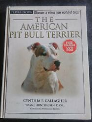 The American Pit Bull Terrier wTraining DVD By Cynthia P. Gallagher. Like New.