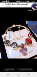 Padora Unforgetable Memories Bracelet With Mickey Mouse Charm