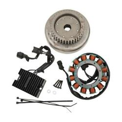 Cycle Electric 27a Alternator Kit For Harley 2009-13 Xl 1200 Sportster Ce-24s-09