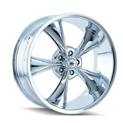 Cpp Ridler 695 Wheels 17x8 + 18x9.5 Fits Chevy Caprice Impala Ss