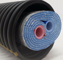 Outdoor Wood Boiler Five Wrap Insulated 3/4 Non O2 Barrier Pex Tubing-pipe