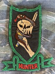 Vietnam War 5th Special Forces Green Beret Macv Sog Cia Hunter Theater Patch