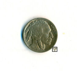United States 1920-d Buffalo Nickel Five Cents Coin , Ef/au