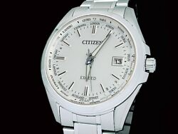 CITIZEN CB0100-52A Exceed eco drive radio clock japan FS