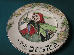 Royal Doulton England Collector Plate The Jester 10 1/2 D6277