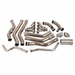Cxracing Turbo Manifold Kit For 68-72 Chevrolet Chevelle Ls