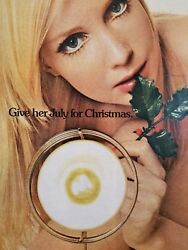 General Electric Ge Sunlamp Christmas 1972 Magazine Ad Approximately 10 X 13