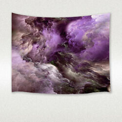 Purple Fantasy Cloud Tapestry Wall Hanging Decor for Bedroom Living Room Dorm
