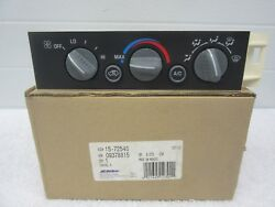 NOS 1996-2002 Chevrolet GMC Cadillac Dash Climate Control Unit GM 9378815   dp