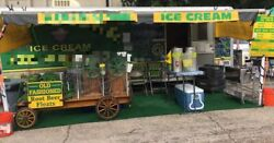 8' x 24' Ice Cream Concession Trailer Business for Sale in Texas!!!